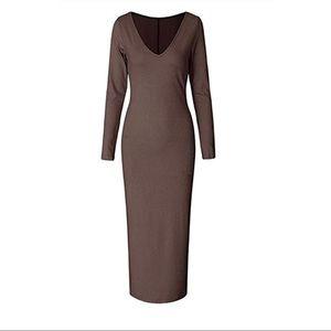 Bodycon knit dress